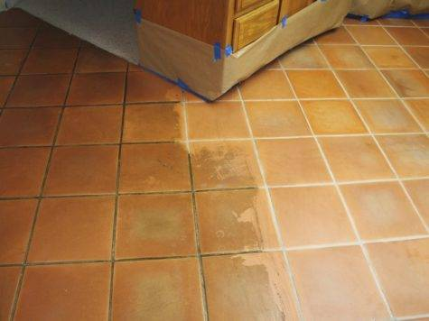 Saltillo Tiles Good Tile Cleaning Sealing