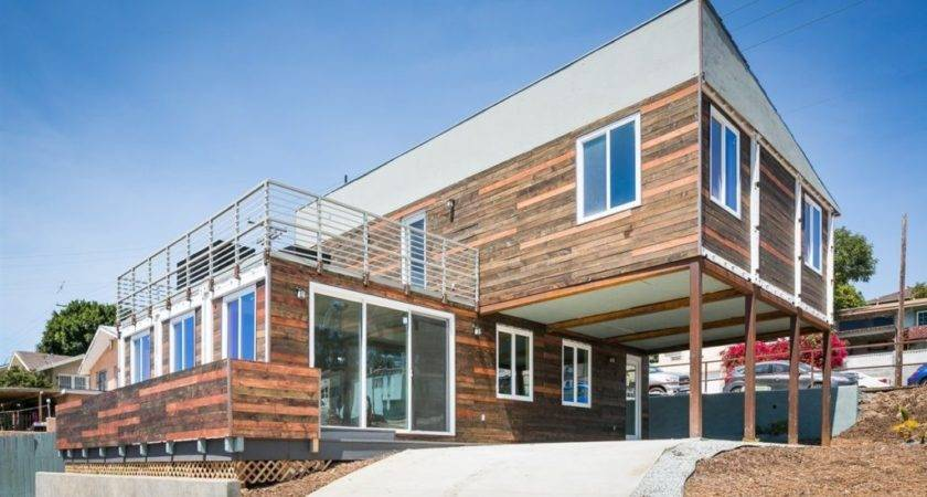 San Diego Modern Home Made Shipping Containers