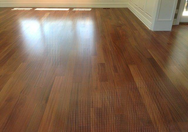 Sapele Hardwood Flooring Traditional