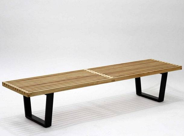 Sauna Bench Natural Wood East End Imports Eei Nat