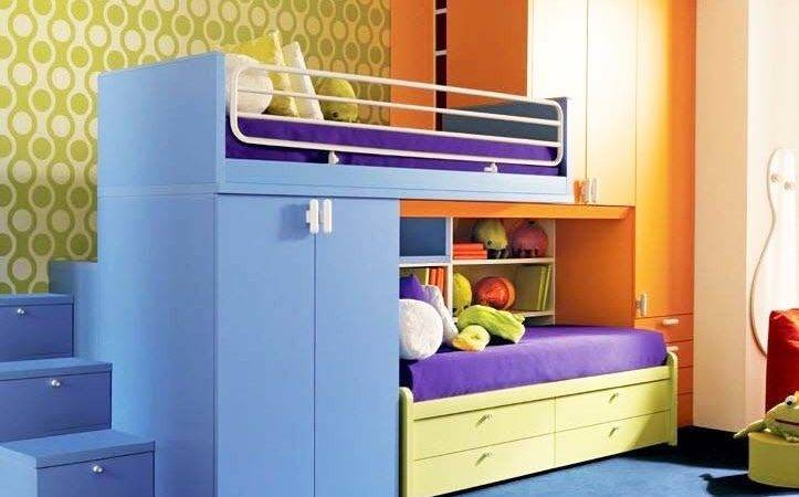 Save Space Your Kids Rooms Bunk Beds Storage