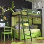 Saving Space Playful Bunk Beds