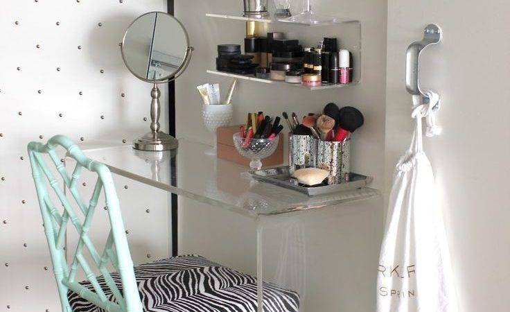 Saving Very Small Bedroom Spaces Corner Clear Acrylic