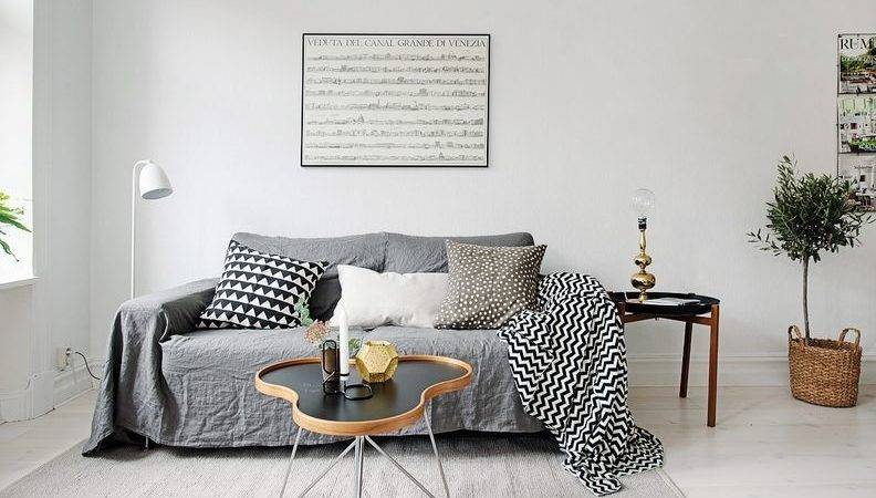 Scandinavian Apartment Makes Clever Small Space