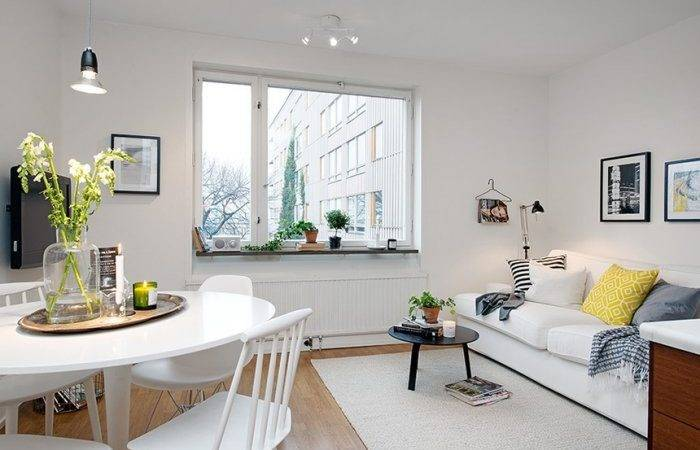 Scandinavian Small Apartment Interior Design Gothenburg