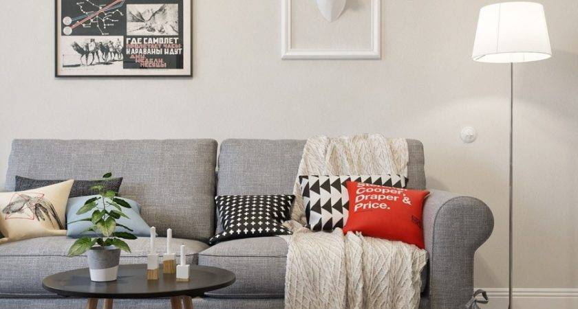 Scandinavian Style Two Bedroom Apartment Int Architecture