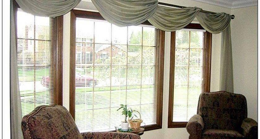 Scarf Window Treatment Ideas
