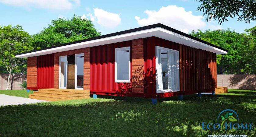 Sch Bedroom Container Home Plans Eco