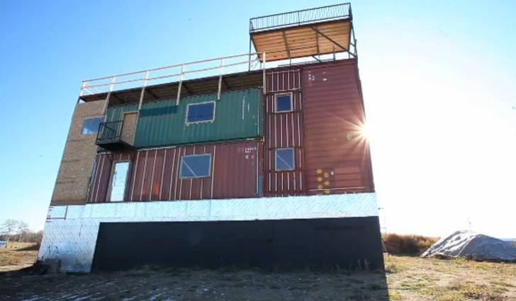 Sea Can House Made Completely Shipping Containers