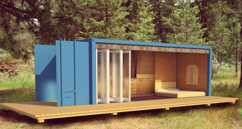 Sea Container Cabin House Design