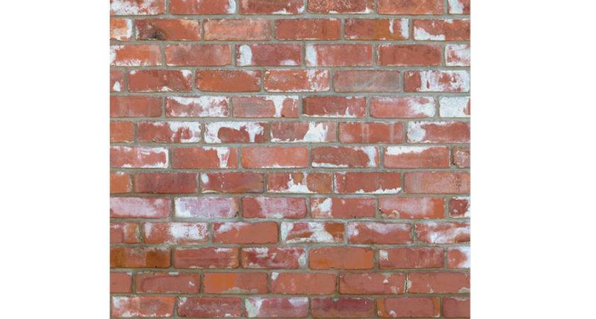 Self Adhesive Removable Red Brick Eazywallpaper