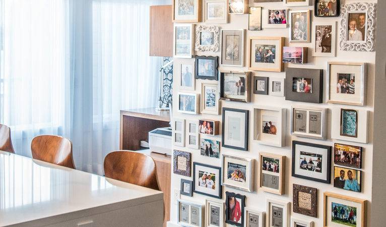 Sensational Collage Wall Frames Decorating Ideas
