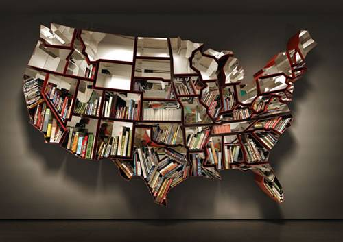 Seriously Cool Bookshelves Bookcases Neatorama