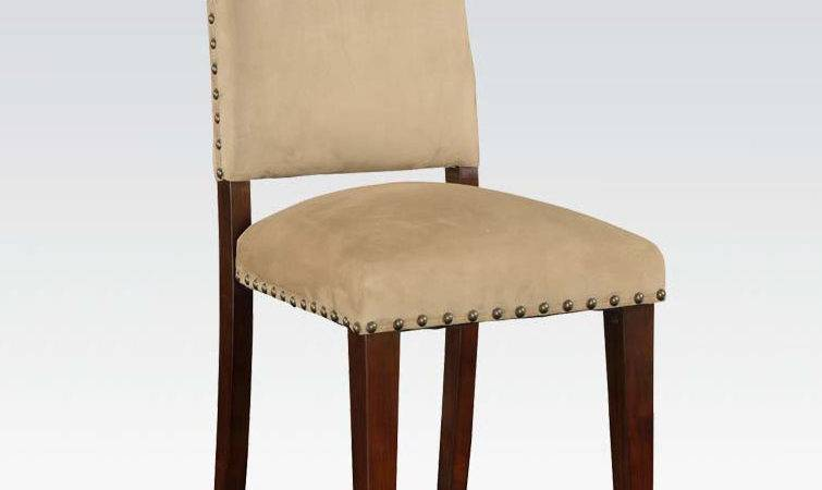 Set Dining Room Chair Espresso Finish Casual