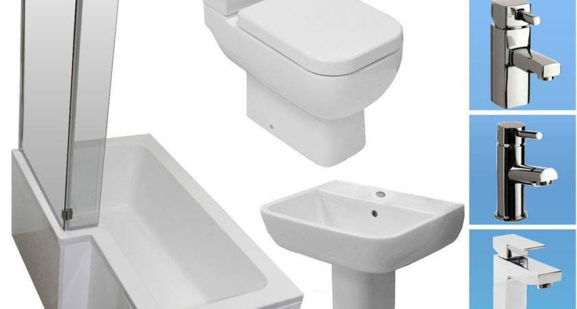 Shape Shower Bath Bathroom Suite Rak Toilet Basin