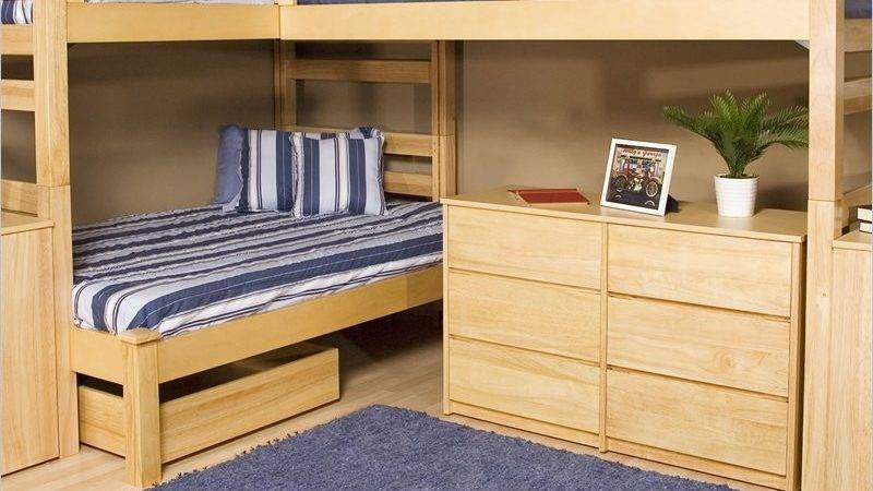 Shaped Bunk Bed Plans Diy Blueprints