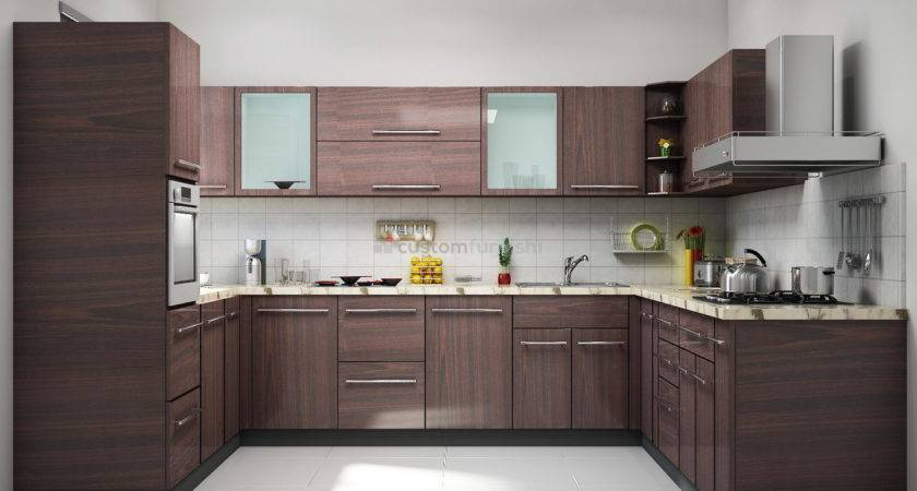 Shaped Kitchen Designs Photos Scenery