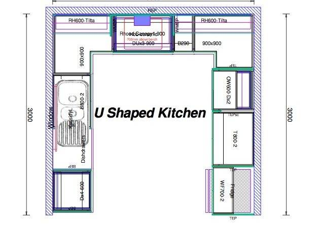 Shaped Kitchen Layout Hac