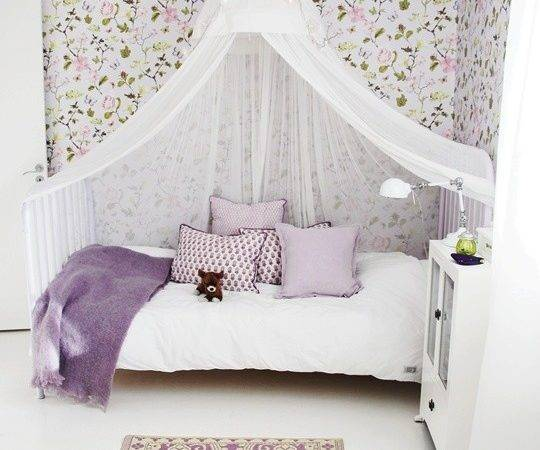Sheer Bed Canopy Tot Teen Girls Room Curtain