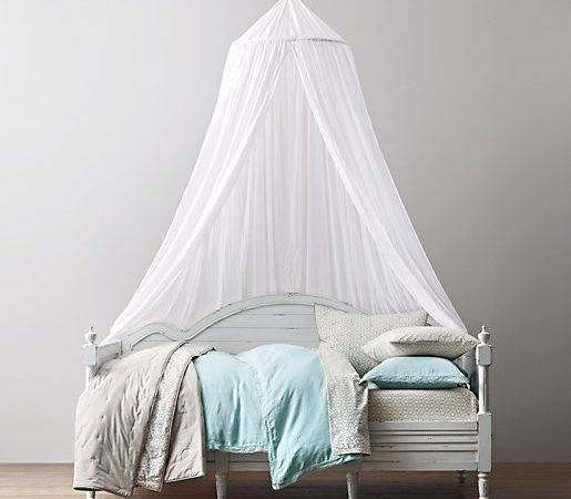 Sheer Cotton Bed Canopy