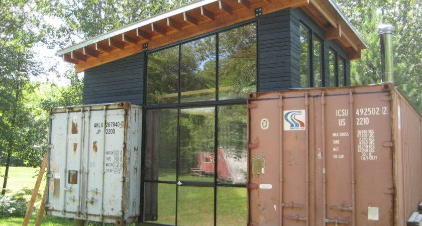 Shibby Shipping Container Cottage Conex House
