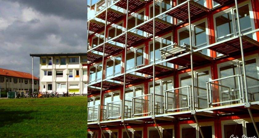 Shipping Container Apartment Building House Design