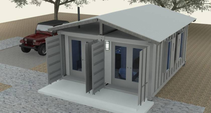 Shipping Container Cabin Concept Part