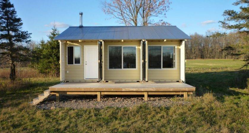 Shipping Container Cabin New House Design