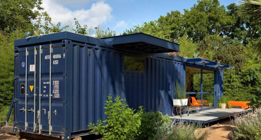 Shipping Container Guest House Jim Poteet