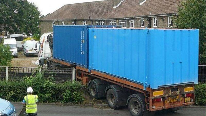 Shipping Container Home House Building Diy Lorry Truck