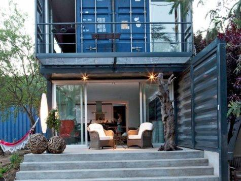 Shipping Container Homes April