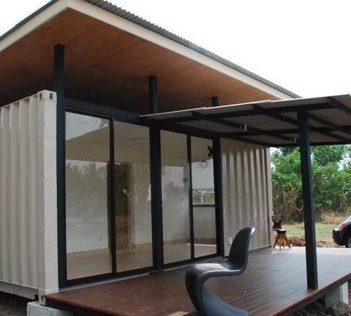 Shipping Container Homes Bluebrown Home Thailand