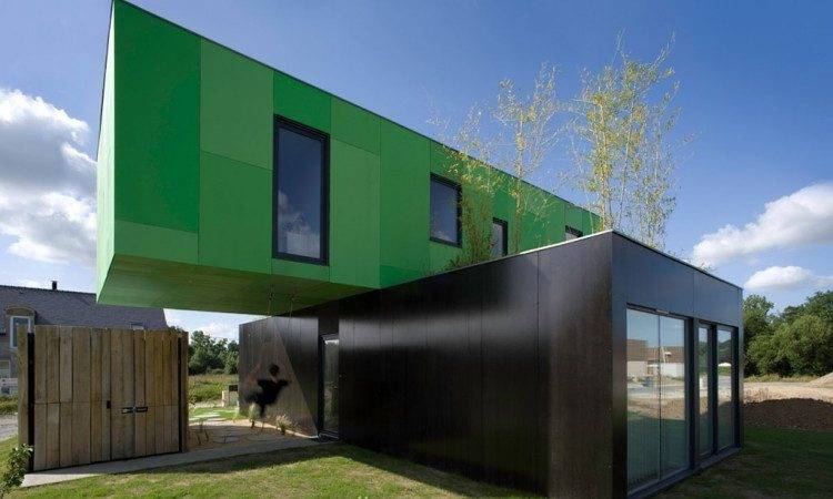 Shipping Container Homes Crossbox Architects Pont