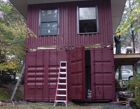 Shipping Container Homes January