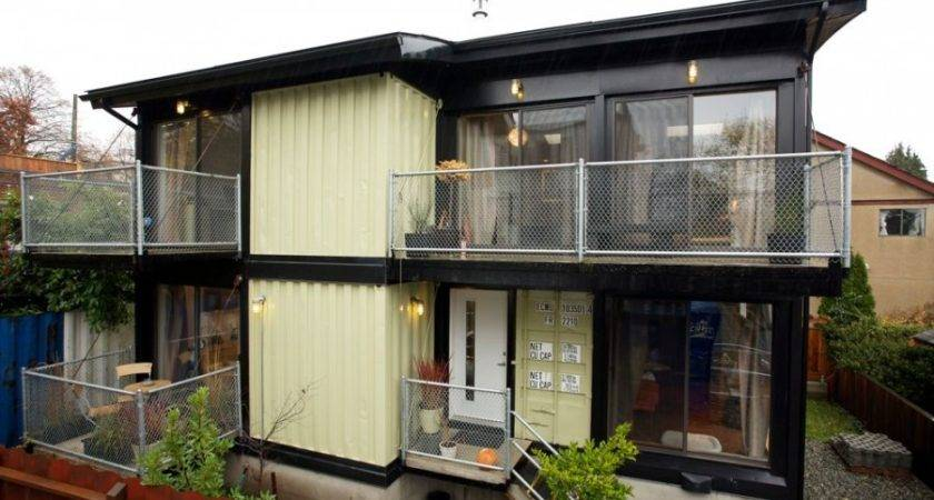 Shipping Container Homes March