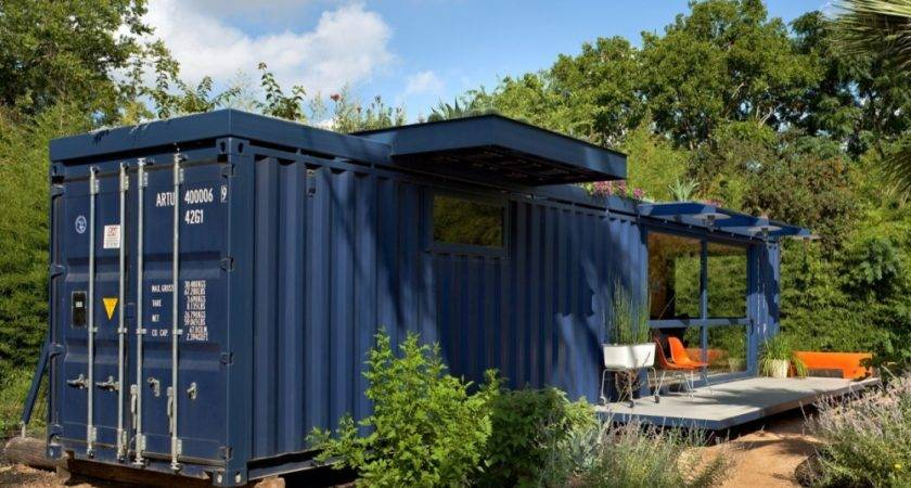 Shipping Container Homes Poteet Architects