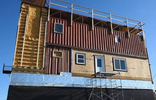 Shipping Container Homes Rimbey Home Built Steel