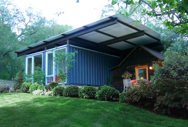 Shipping Container Homes Self Contained Topanga California