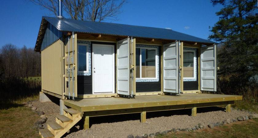 Shipping Container Homes Tin Can Cabin Northern Wisconsin