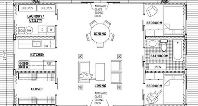 Shipping Container House Floor Plans There More Cargo