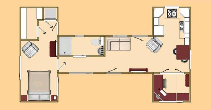 Shipping Container House Plans Modern Modular Home