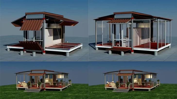 Shipping Container Houses House Plan