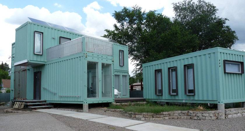 Shipping Container Housing Might Actually Want Live