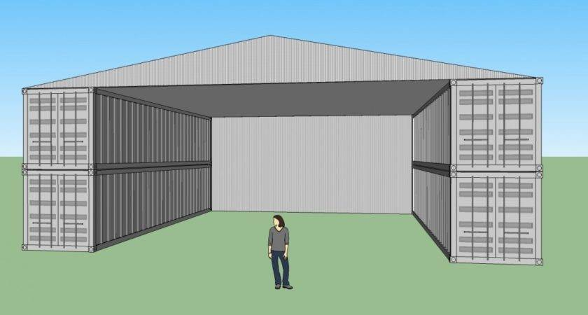 Shipping Container Shop Plans House Design
