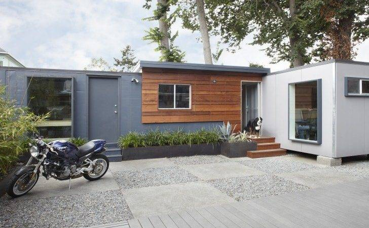 Shipping Container Work Space California Design