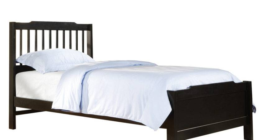 Shop Home Sonata Black Twin Bed Frame Lowes