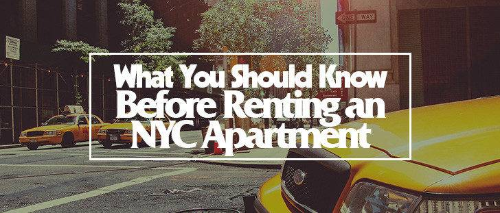 Should Know Before Renting Nyc Apartment