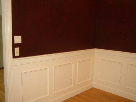 Sigovich Design Build Interiors Wainscoting