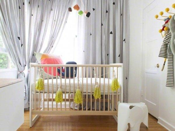 Simple Beautiful Modern Nursery Design