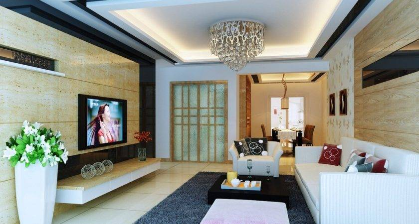 Simple Ceiling Design Small Living Room All